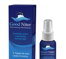 GoodNiter - kde koupit - diskuze - recenze - cena - lékárna - spray