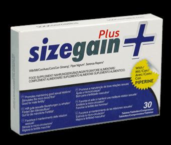 SizeGain Plus - účinky - zkušenosti - funguje