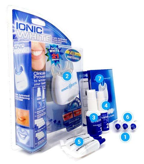 Ionic White - účinky - funguje - názory