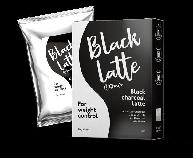 Black Charcoal Latte ReShape - recenze - cena - diskuze - názory - lékárna - kde koupit